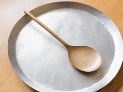 Brass Server Spoon by Naho Kamada at OEN Shop