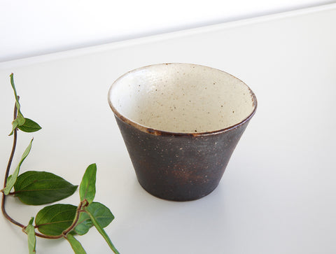 Brown Cup by Fumihiro Toda