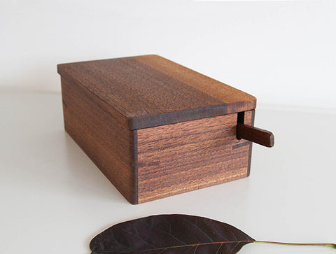 Walnut Butter Box by Eiji Hagiwara