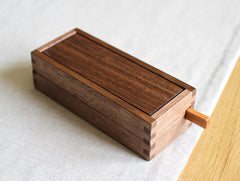 Walnut Buttercase by Tomokazu Furui at OEN Shop