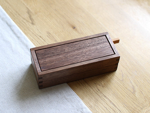 Walnut Buttercase by Tomokazu Furui