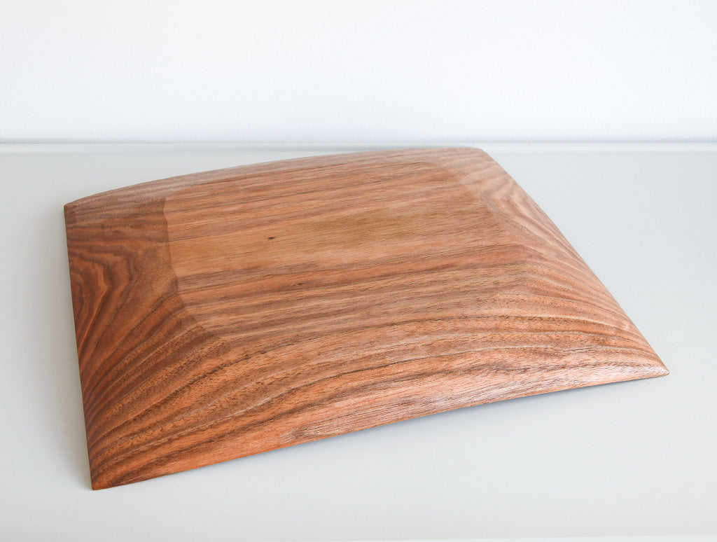 Carved Cherry Tray by Toru Sugimura at OEN Shop
