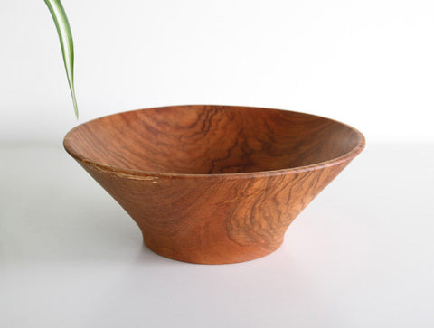 Wide Cherry Bowl by Masahiro Endo