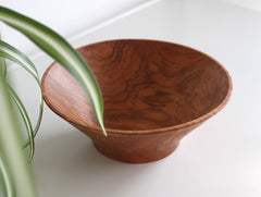 Wide Cherry Bowl by Masahiro Endo at OEN Shop