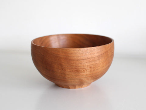Cherry Bowl with Marks by Tomokazu Furui