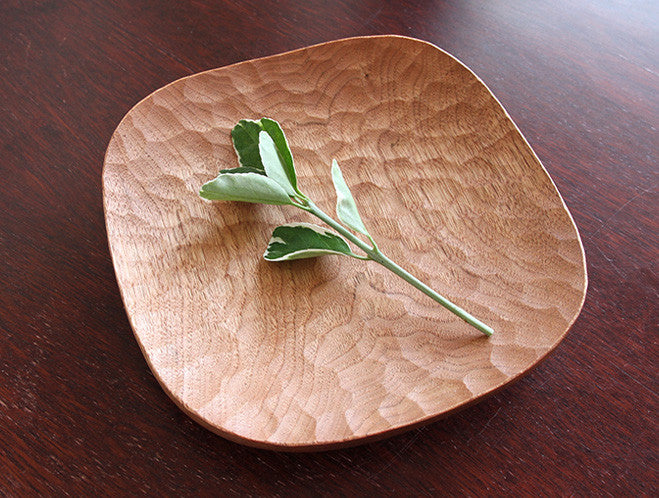 Japanese Walnut Bread Dish by Atelier tree song at OEN Shop