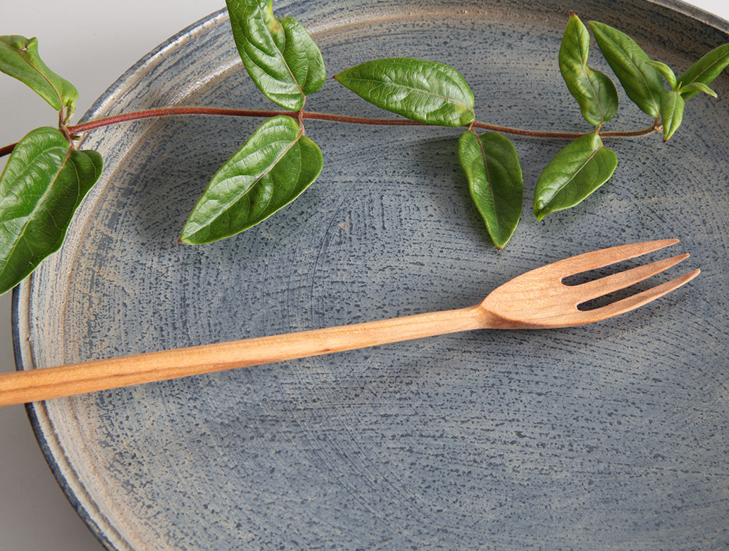 Fork in Cherry by Hiroyuki Sugawara at OEN Shop
