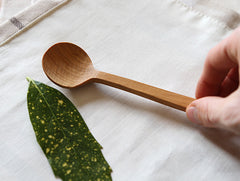 Cherry Soup Spoon by Eiji Hagiwara at OEN Shop