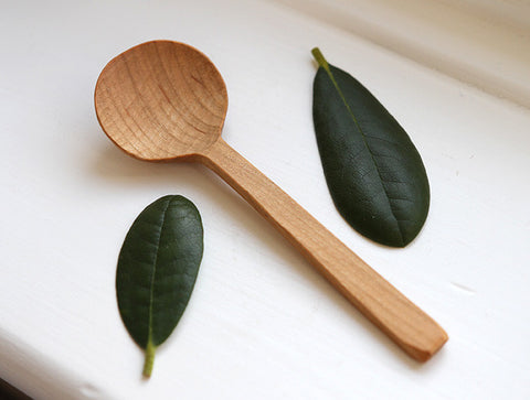 Cherry Soup Spoon by Eiji Hagiwara