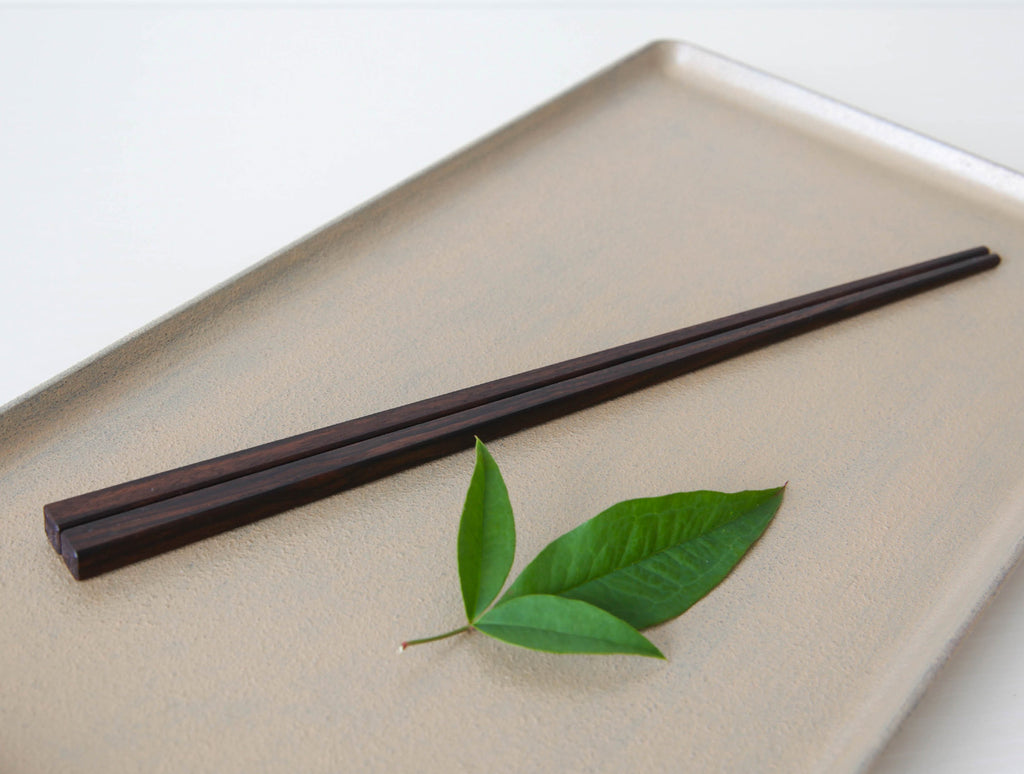 Walnut Chopsticks by Fujii Works at OEN Shop