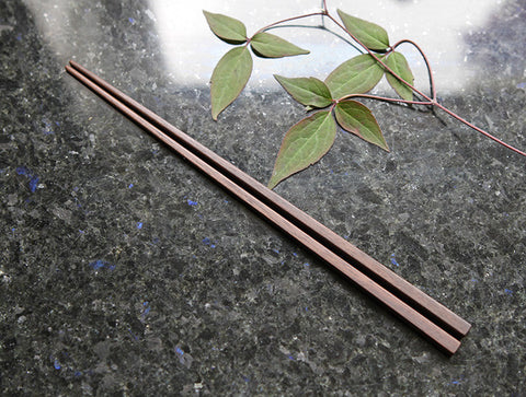 Walnut Chopsticks by Fujii Works