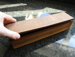Black Walnut Chopstick Case