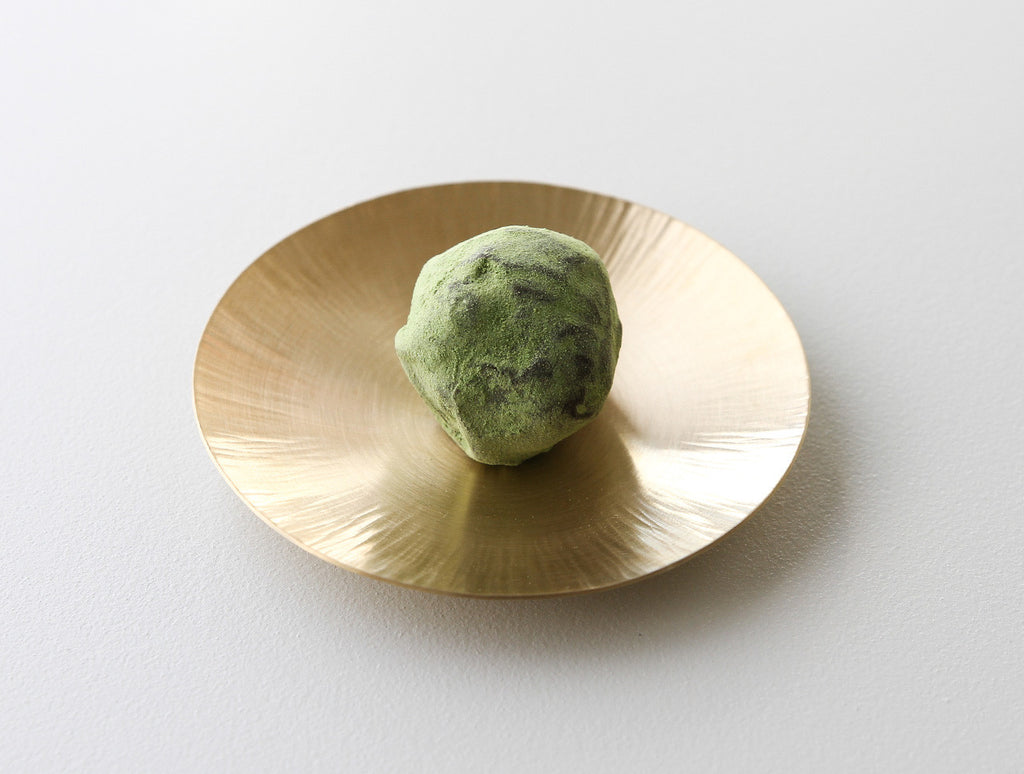 Brass Cookie Plate by Yuta Craft at OEN Shop