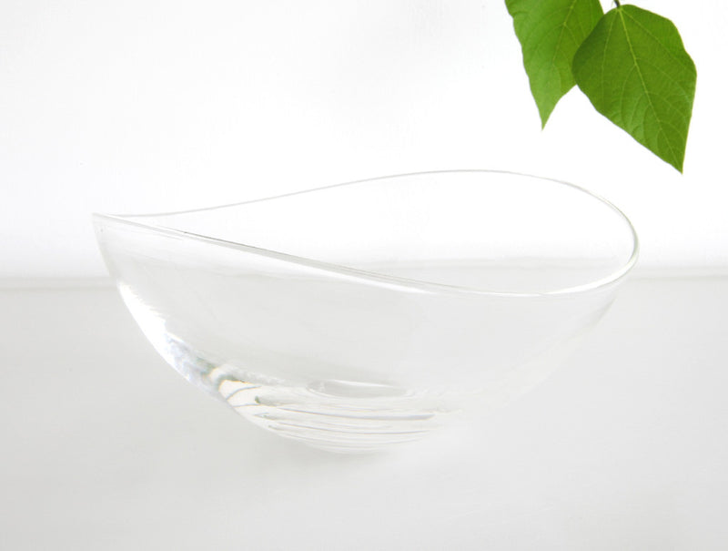 Clear Lotus Bowl