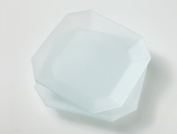 Octagon Plate Clear