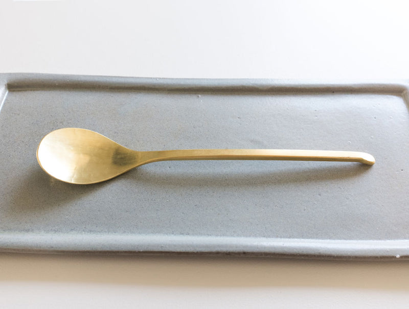 Brass Coffee Spoon