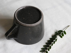 Black Coffee Cup by Naotsugu Yoshida at OEN Shop