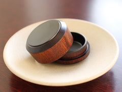 Brown Column Container by Maiko Okuno at OEN Shop