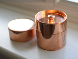 Round Copper Can