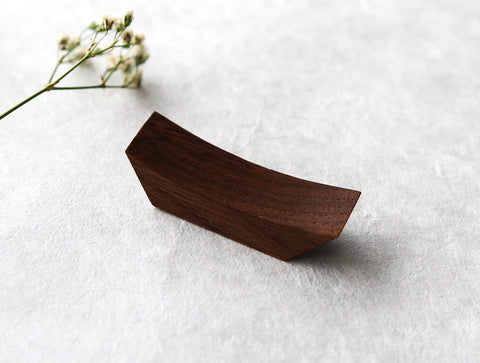 Walnut Chopstick Rest by Studio KUKU