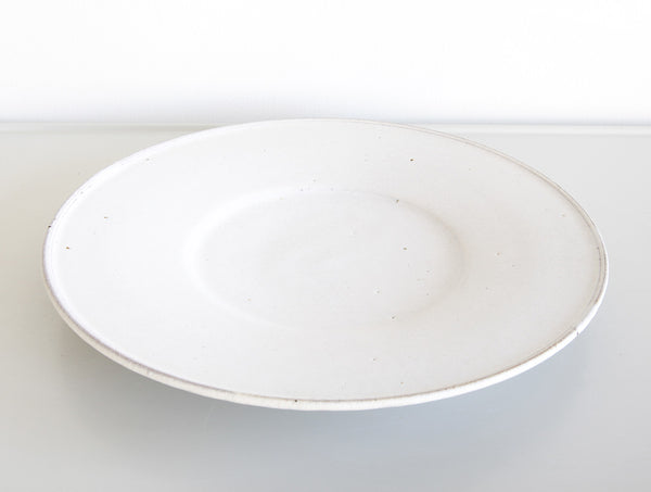 Large White Delft Dish