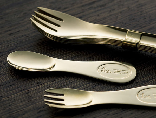 Brass Dessert Spoon Set