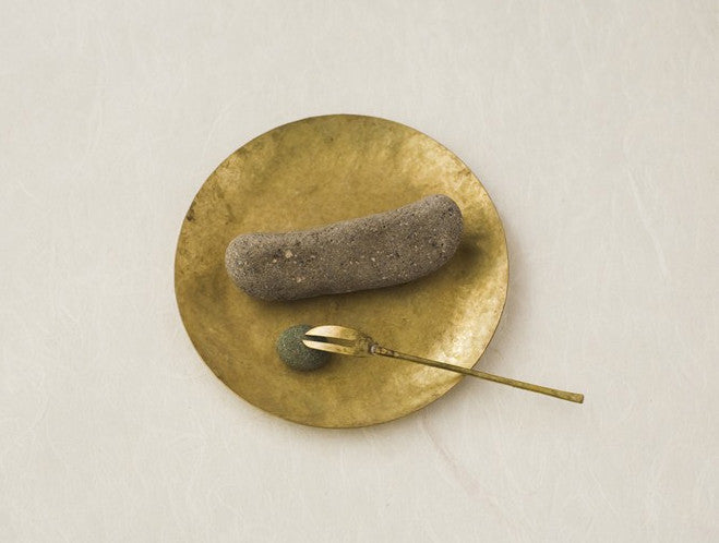 Brass Dish by Lue Brass at OEN Shop