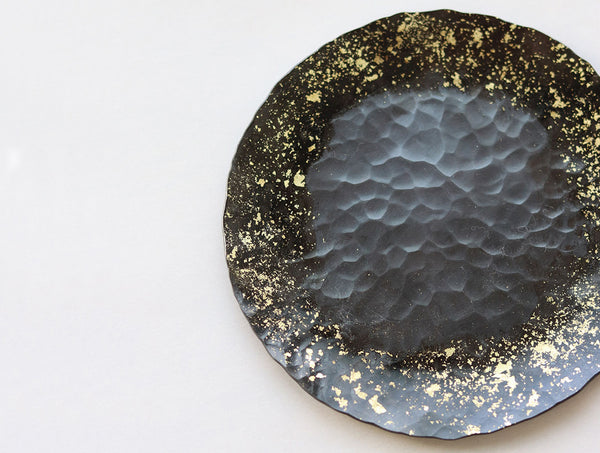 Golden Scatter Moon Dish