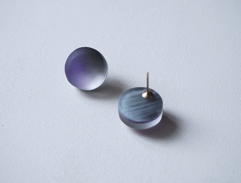 Purple Monotone Earrings