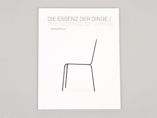 The Essence of Things: The Art of Reduction by Vitra Design Museum at OEN Shop