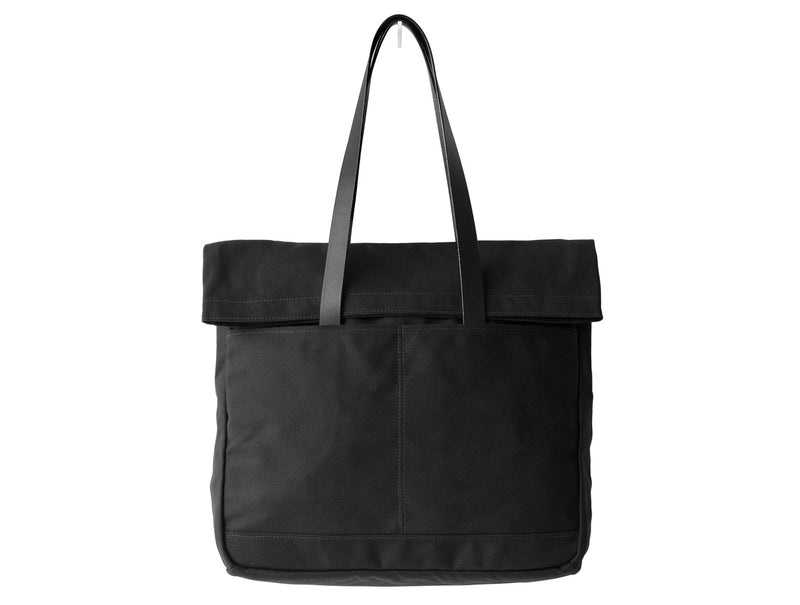 Canvas & Leather Fold Weekender Bag