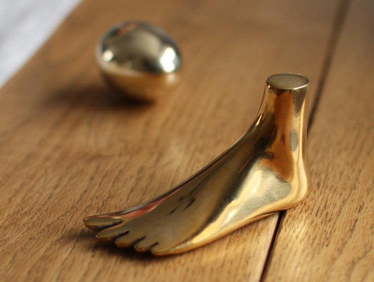 Paperweight Foot by Carl Auböck at OEN Shop