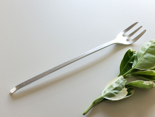Salad Fork in Aluminium