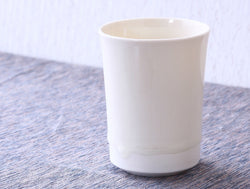 White Porcelain Free Cup
