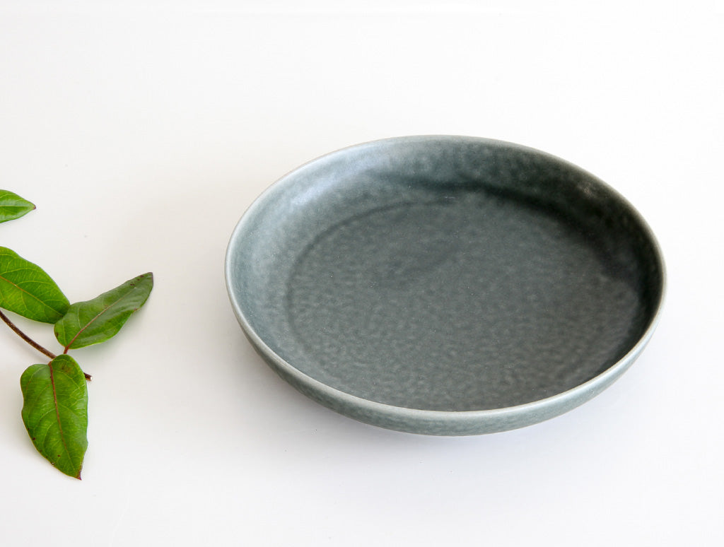 ReIRABO Winter Grey Dish by Yumiko iihoshi at OEN Shop