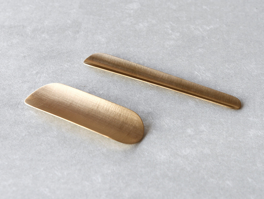 Brass Ice Cream Scoop by Yuta Craft at OEN Shop