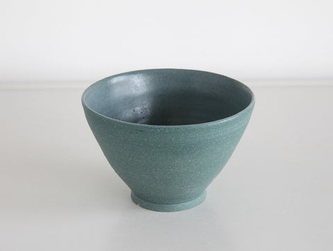 Small Green Stone Bowl by Mark Robinson