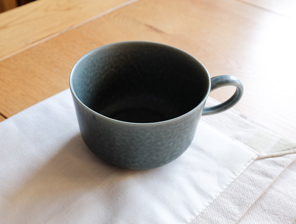 ReIRABO Winter Grey Cup by Yumiko iihoshi at OEN Shop