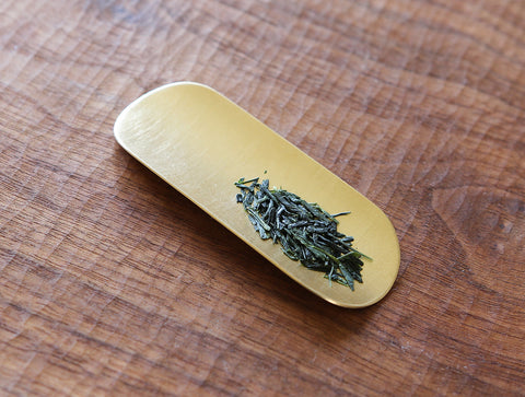 Brass Tea Scoop by Yuta Craft