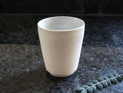 Small Grey Stone Cup by Mark Robinson