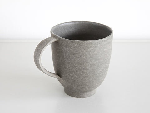 Grey Stone Matte Mug by Mark Robinson