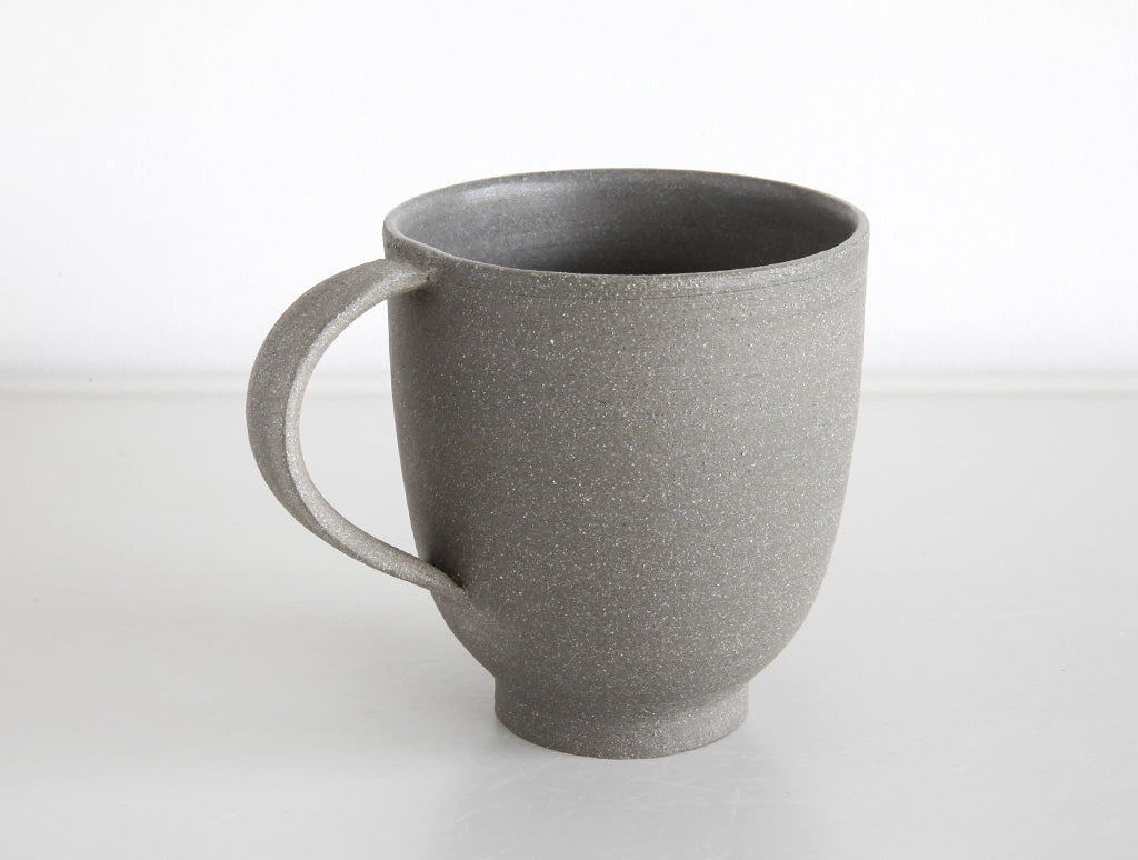 Grey Stone Matte Mug by Mark Robinson at OEN Shop