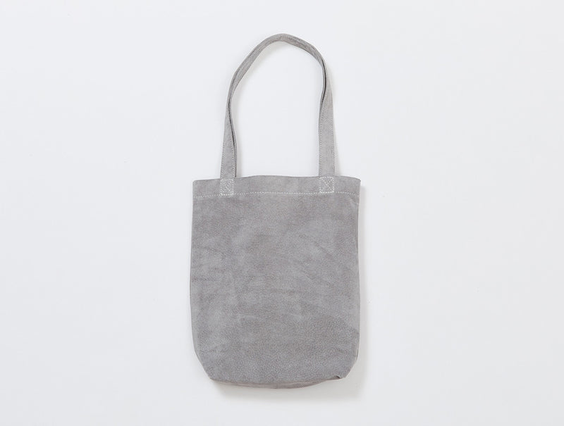 Light Grey Suede Tote