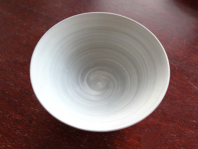 Grey Spiral Bowl by Mark Robinson at OEN Shop
