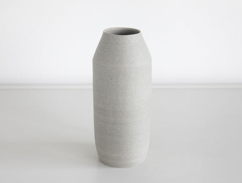 Grey Stone Bud Vase by Mark Robinson