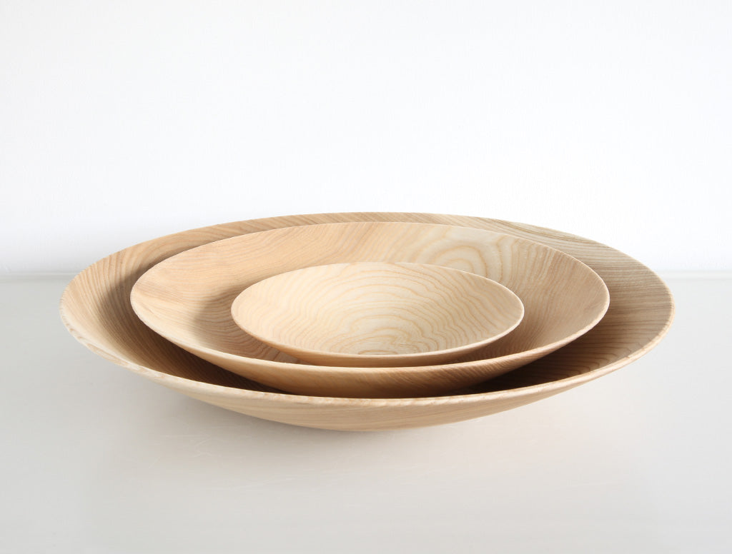 Large Natural Open Bowl by Kihachi Workshop at OEN Shop