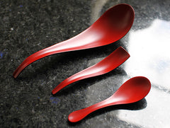 Large Dry Lacquer Spoon by Mie Yokouchi at OEN Shop