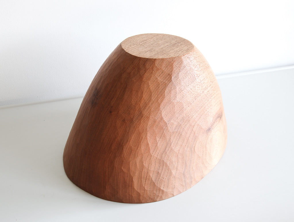 High Walnut Bowl by Toru Sugimura at OEN Shop