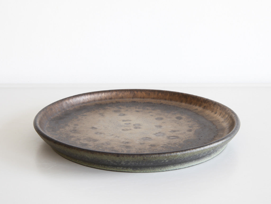 Medium Iron Plate by Mushimegane Books at OEN Shop