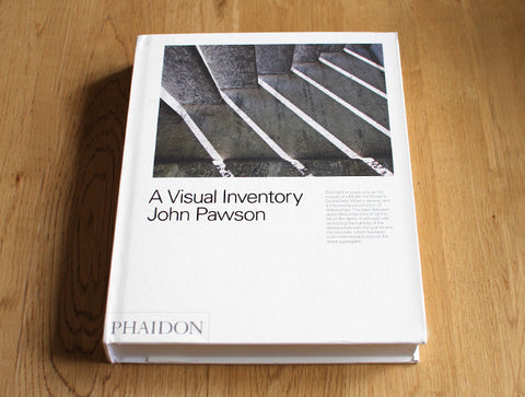 John Pawson - A Visual Inventory by Phaidon
